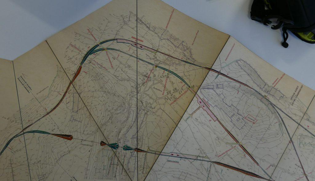 "Plan ""Varianten"" vom 30. Oktober 1891"